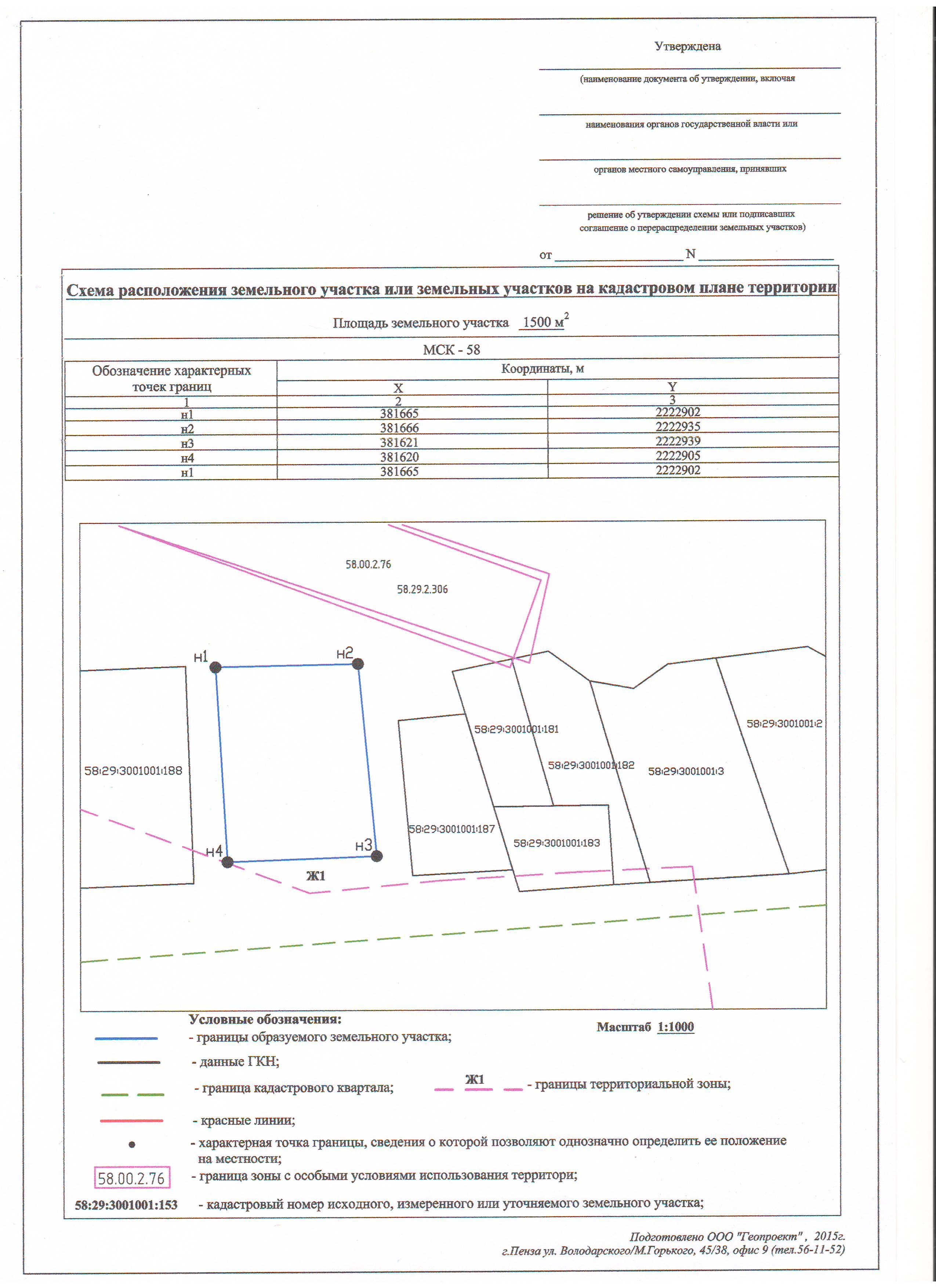 Требования к схеме расположения земельного участка с 1 марта 2015 года
