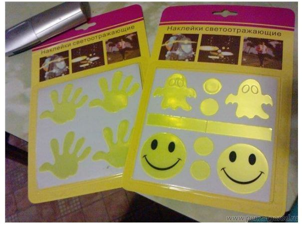 Светоотражающие элементы для детей своими руками фото